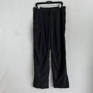 LULULEMON Black and Red Trackpant